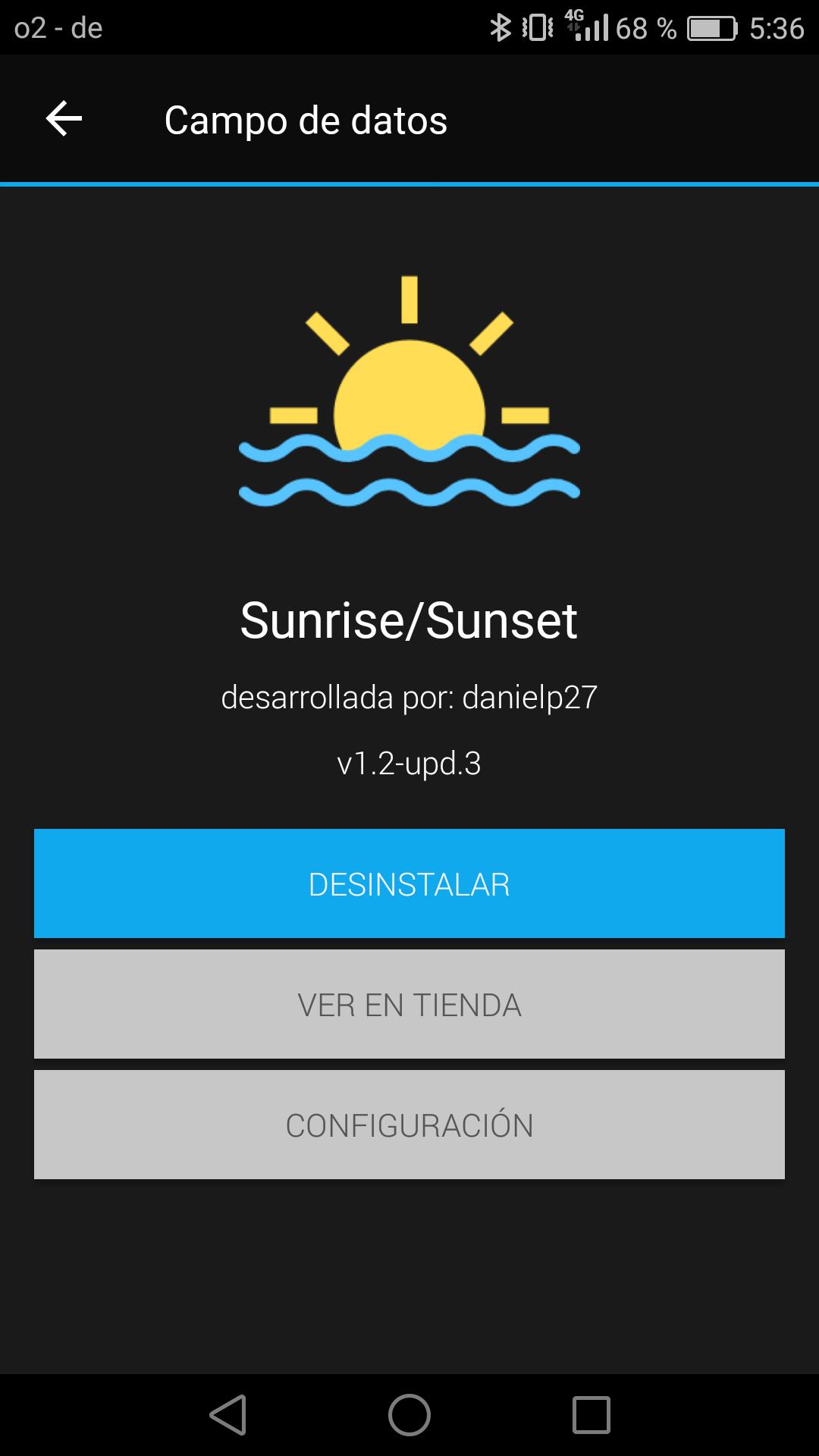 Garmin Sunset/Sunrise App - Dani Pindado Blog